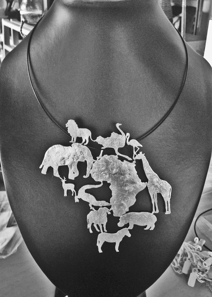 My Africa Maxi Silver Pendant