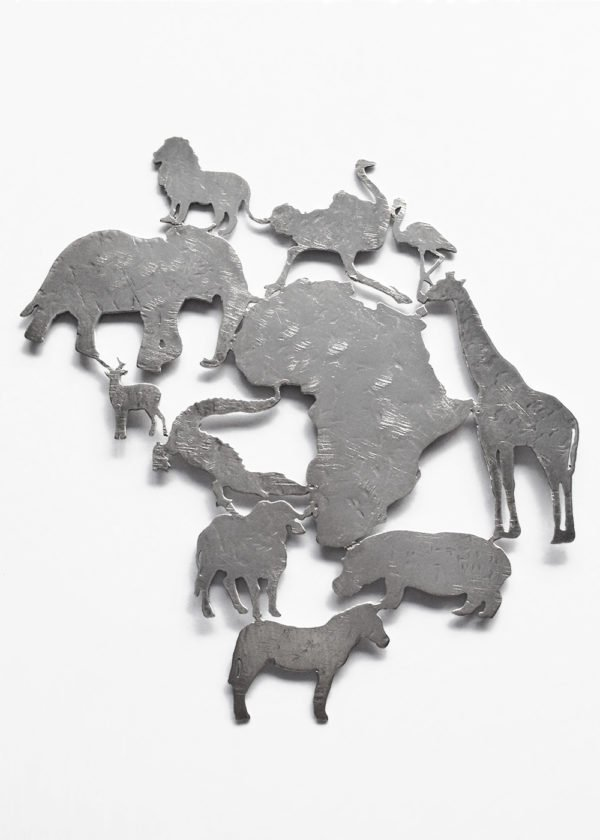My Africa Maxi Silver Pendant