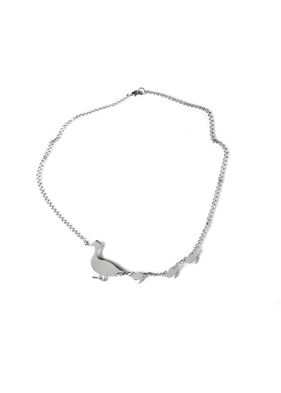 ducks are coming necklace
