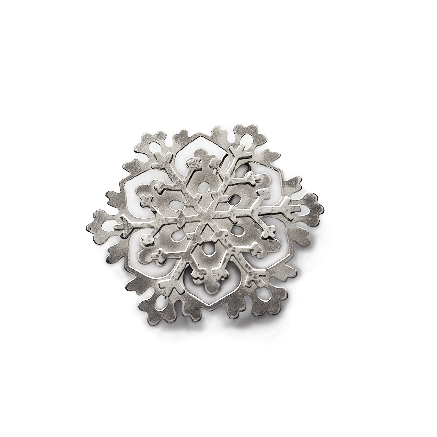 Snowflake brooch - Fery