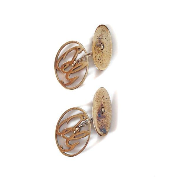 gemelli iniziali bronzo 900