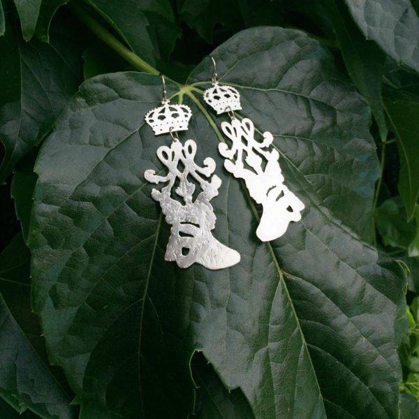 orecchini maria antonietta edera 900