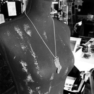ritratto maria antonietta manichino 900