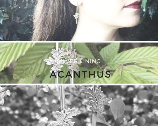 acanthus orecchini lunghi