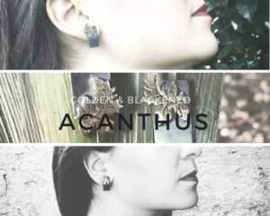 Acanthus balck gold tris