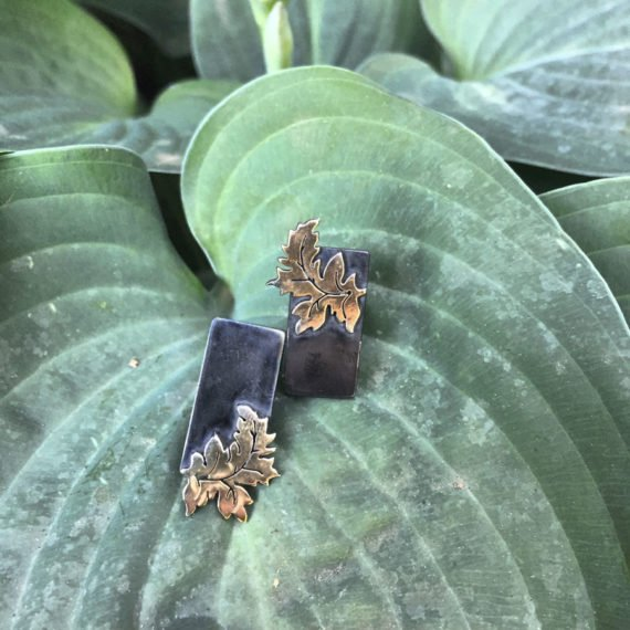 acanthus tag golden green 900