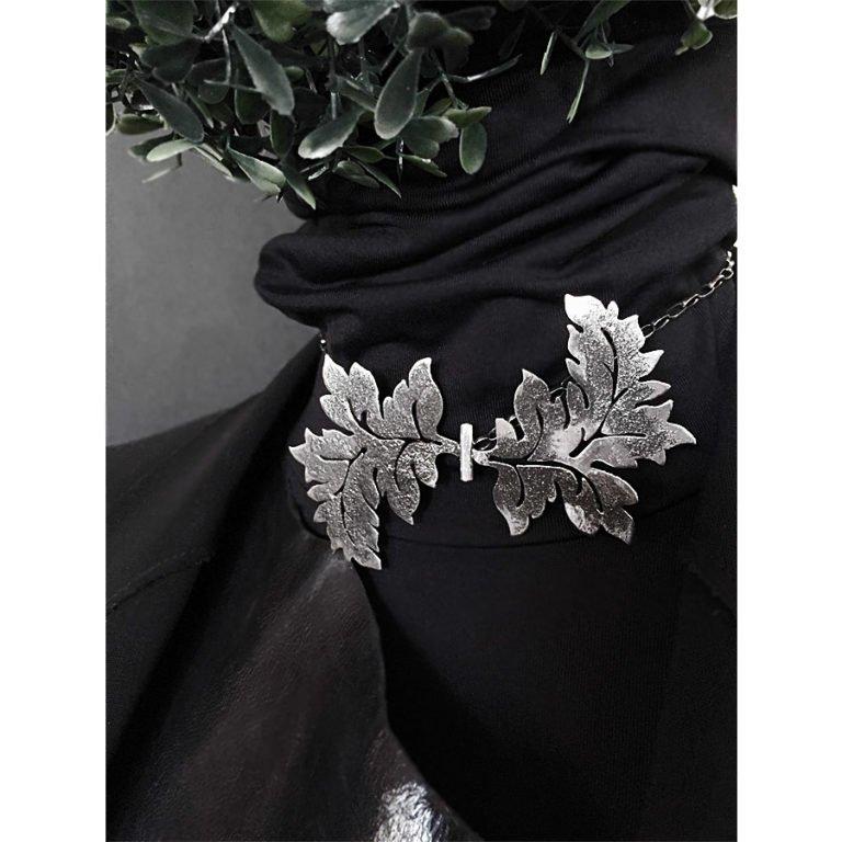 silver acanthus jewel papillon
