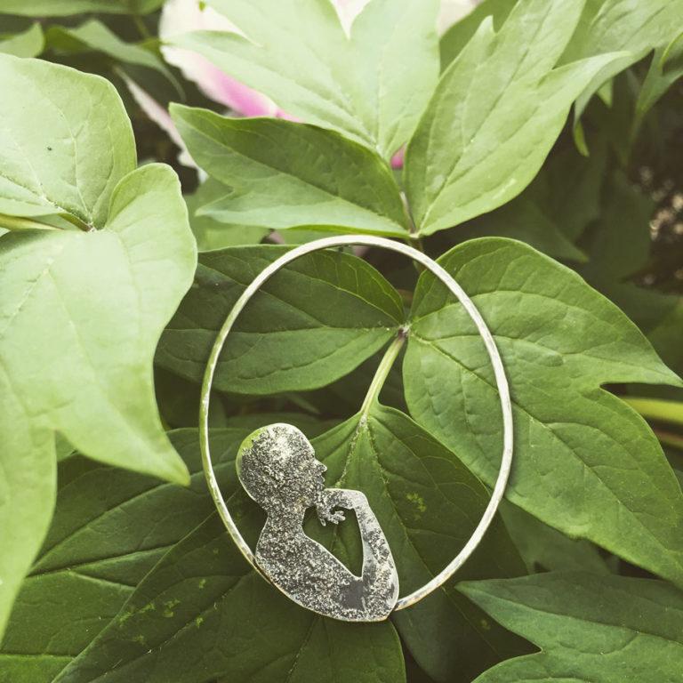 sognare silver mono earring