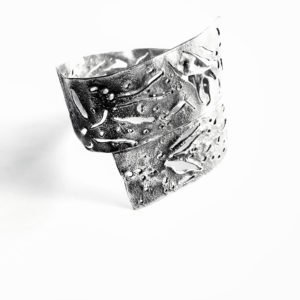 silver skin bangle 900